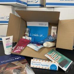 Menschen Bewegen Hilfsmittelboxen Inhalt